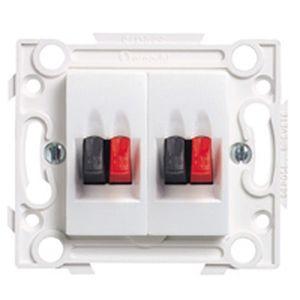 arnould 63282 prise 1 haut parleur obturateur. Black Bedroom Furniture Sets. Home Design Ideas