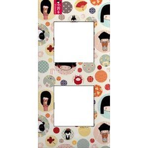 arnould espace evolution plaque 2 postes collection. Black Bedroom Furniture Sets. Home Design Ideas