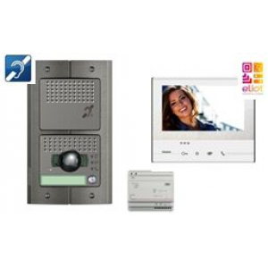 Kit portier vid o erp connect bticino cofrel bt369811 - Portier video connecte ...