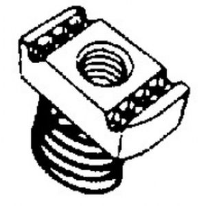 Plaque taraudée + vis inox M10 x 30 Planet Wattohm 34216