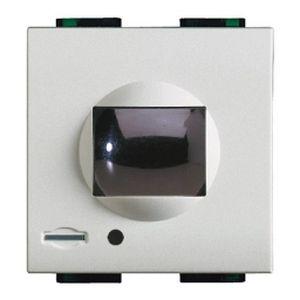 r cepteur infrarouges actifs livinglight blanc bticino cofrel n4654n. Black Bedroom Furniture Sets. Home Design Ideas