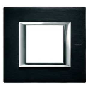 Plaque Anthracite - 2 modules