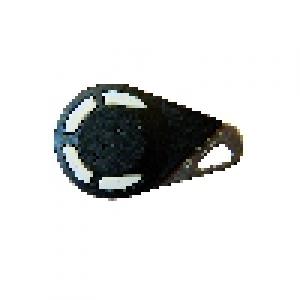 Télécommande radio bi-technologies 868 MHz noire - 4 boutons (HEXACT)