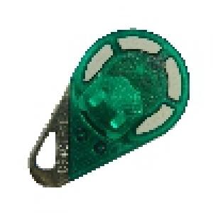 Télécommande radio bi-technologies 868 MHz verte - 4 boutons (HEXACT)