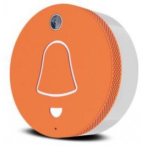 Link orange - sonnette sans fil connectée orange