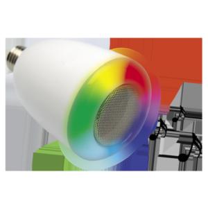 MELI - Ampoule musicale à variation de couleur