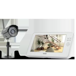 O'plus Kit vidéosurveillance sans fil 200m