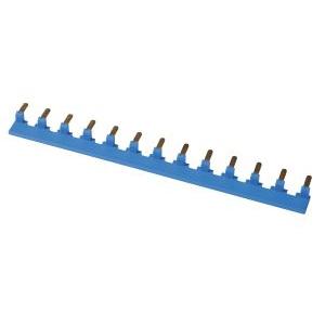 VBS pour disjoncteur Unibis - peigne bleu - 13x1 Pôle neutre