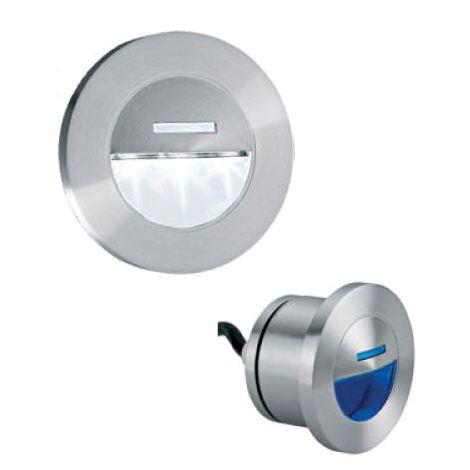 Encastré de mur LED MURO 2 Bleu utilisation extérieur 0.8w 230V