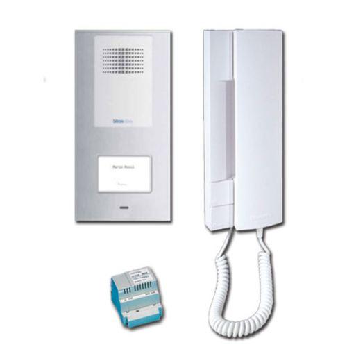 golmar bitron video uav1860 1 kit portier audio t line 2 fils. Black Bedroom Furniture Sets. Home Design Ideas