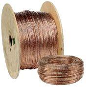 Cable de terre en cuivre nu 25mm2 (prix au m)