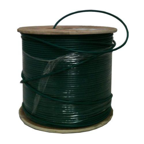 Chute de  60m de Cable coaxial KX6 vidéo vert - Touret de 500m (prix au m) - Livrée sur touret
