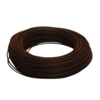 Cable HO7V-U 1,5 mm2 Marron C100m (Prix au m)
