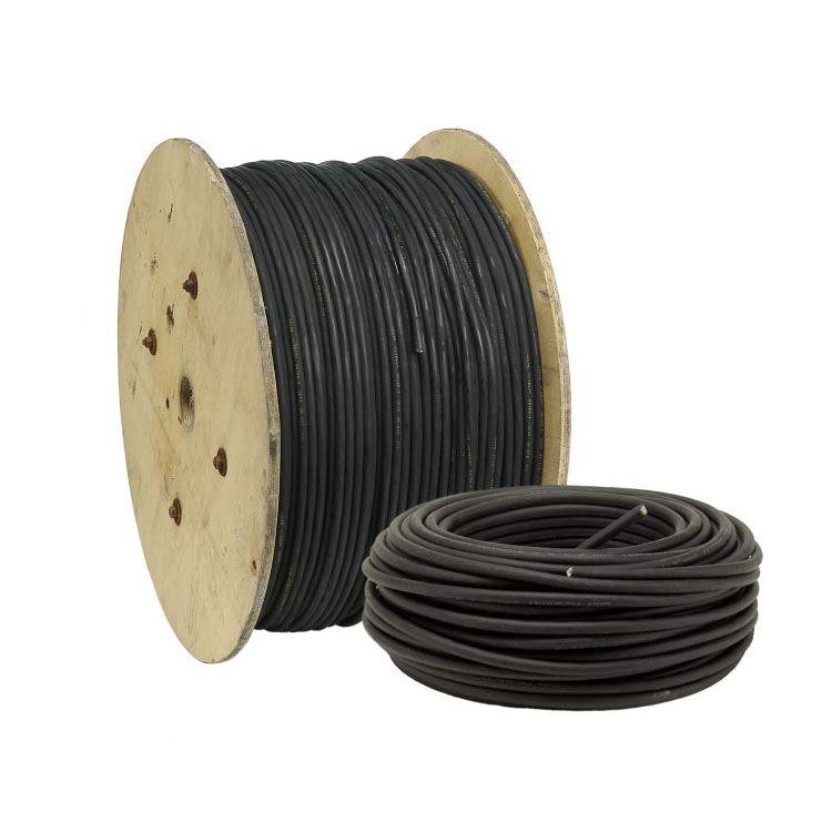 Chute de 33m de Cable HO7RN-F 1X185mm2 noir (Prix au m) - Livrée sur touret