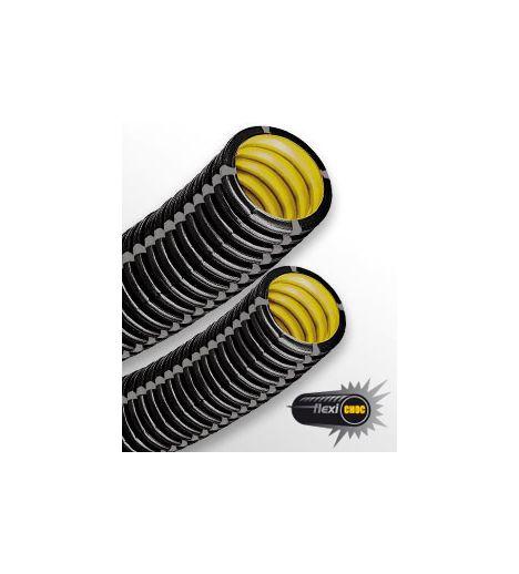 Gaine Flexi-Choc 3522-IK10 diam 63 noire - Conduit isolant non propagateur de flamme C25m (prix au m)