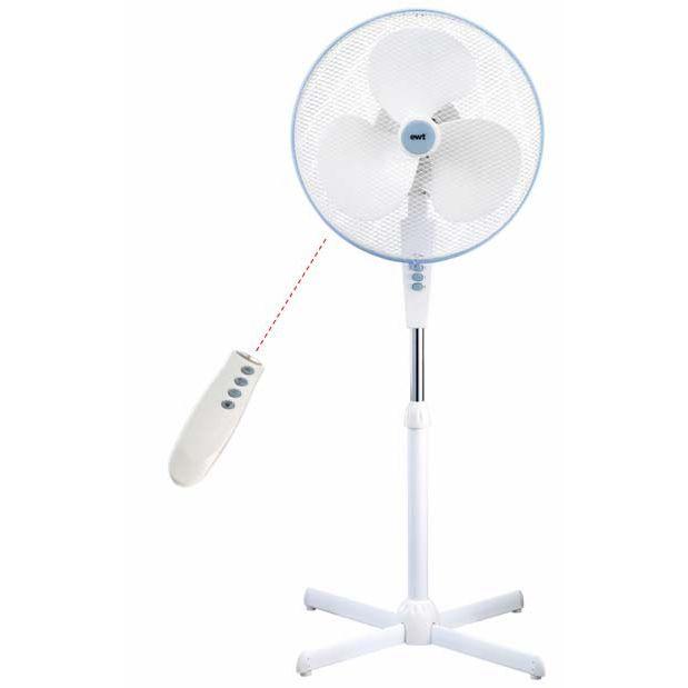 ventilateur sur pied 40cm avec t l commande vento comfort 40 r ewt ecomfort40r. Black Bedroom Furniture Sets. Home Design Ideas