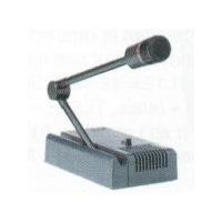 Microphone de table préamplifié sans signal d'annonce