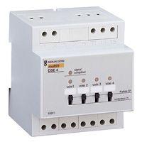 D lesteur 4 voies pour compteur lectronique edf monophas dse4 modulaire schneider electric 15911 - Compteur edf electronique ...