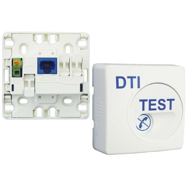 Legrand 051221 dti format rj45 pour coffret de communication - Comment tester la terre sur une prise ...