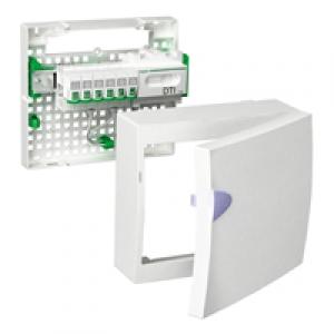 schneider lexcom home resi9 coffret de communication grade 2 6 rj45 1 rang e schneider. Black Bedroom Furniture Sets. Home Design Ideas