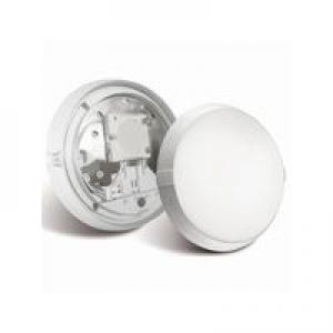 Hublot Super 400 LED avec détecteur polycarbonate blanc