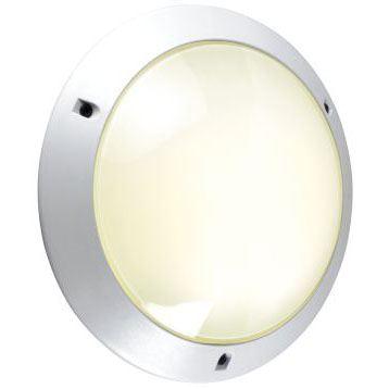 Hublot Chartres Rond jupe simple taille 1 blanc E27 60W avec détecteur