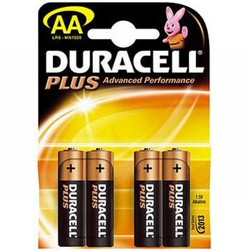 Piles alcalines duracell
