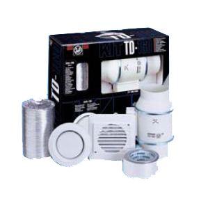 Kit TD-160/100N d'installation Mixvent-TD