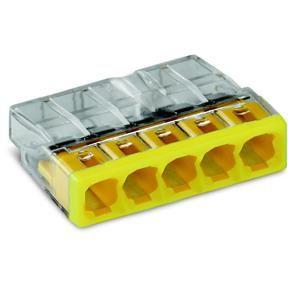 Bornes pour boîtes de dérivation COMPACT borne à 5 conducteurs