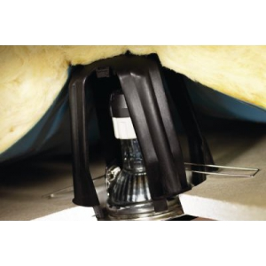 spotclip support protecteur pour spots encastrables hellermanntyton 148 00076. Black Bedroom Furniture Sets. Home Design Ideas