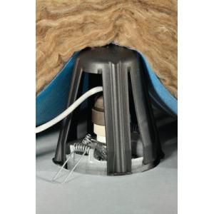 hellermanntyton 148 00076 spotclip support protecteur pour spots encastrables. Black Bedroom Furniture Sets. Home Design Ideas