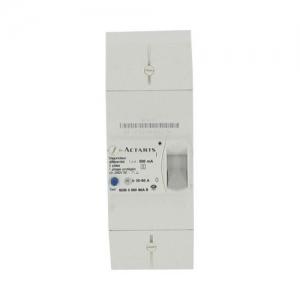 Disjoncteur de branchement EDF - diff 500 mA - sélectif - 2P - 60 A