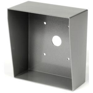 Aiphone cs10 cadre saillie inox pour ac10f 120153 for Bouton sonnette exterieur