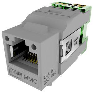 mmc cae 027119 connecteur rj45 cat6 blinde 9 points. Black Bedroom Furniture Sets. Home Design Ideas