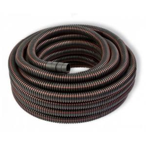 Gaine TPC diam 40 noire liseré rouge  - Conduit isolant souple C25m (prix au m)