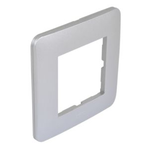 Plaque Casual Debflex simple silver