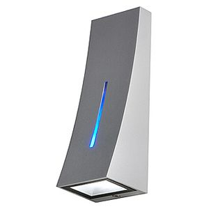 DELWA BLUE APPLIQUE, POWERLED BLANCHE + POWERLED BLEUE EN FACADE, GRIS