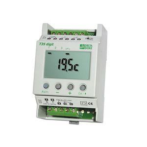 T3S Digit - Thermostat modulaire avec 2 entrées de programmation