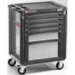 facom jet 6gxl servante 6 tiroirs grise. Black Bedroom Furniture Sets. Home Design Ideas
