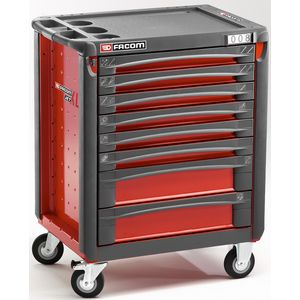 facom jet 8xl servante 8 tiroirs rouge. Black Bedroom Furniture Sets. Home Design Ideas