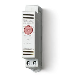 thermostat d 39 armoir 1nc contact a ouverture pour chauffage 10a plage de reglage de 0 a 60 c. Black Bedroom Furniture Sets. Home Design Ideas