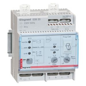 Commande pour chauffauge électrique fil pilote - 1 zone