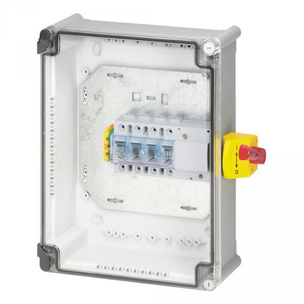 Coffret de proximit avec interrupteur sectionneur vistop 4p 125 a ik 07 legrand 022634 - Sectionneur porte fusible telemecanique ...