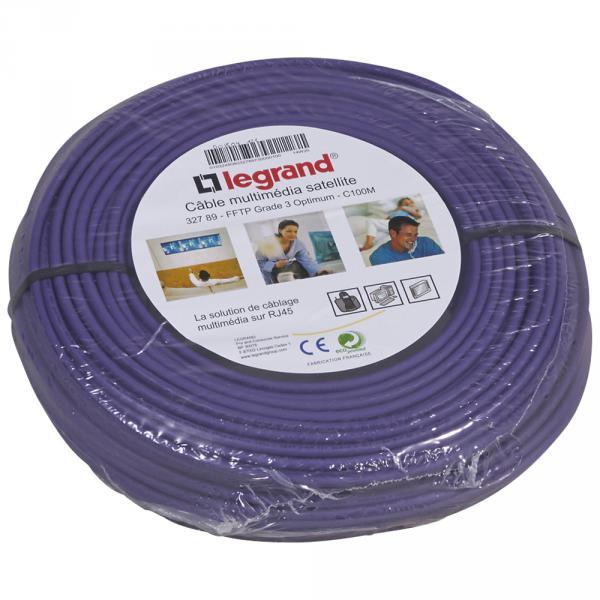 touret 500m cable vdi grade 3 sat michaud q201