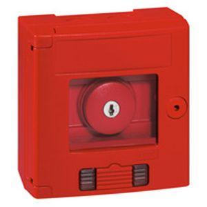 legrand 038009 coffret de s curit 39 39 bris de glace 39 39 coup de poing rouge voyant saillie. Black Bedroom Furniture Sets. Home Design Ideas
