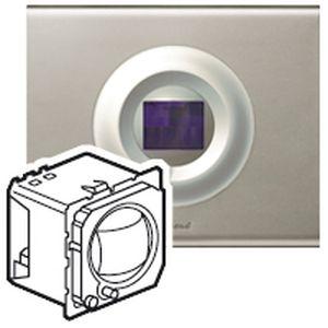 legrand 067216 r cepteur infrarouge c liane 4 commandes. Black Bedroom Furniture Sets. Home Design Ideas