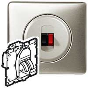 prise haut parleur legrand c liane legrand 067311. Black Bedroom Furniture Sets. Home Design Ideas