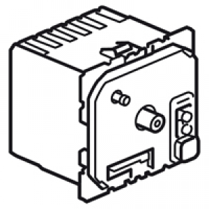Thermostat d'ambiance fil pilote Céliane