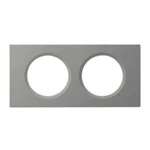 legrand 069142 plaque c liane exclusives 2 postes b ton cir. Black Bedroom Furniture Sets. Home Design Ideas