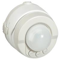 Détecteur de mouvement 360° Prog Plexo complet saillie blanc